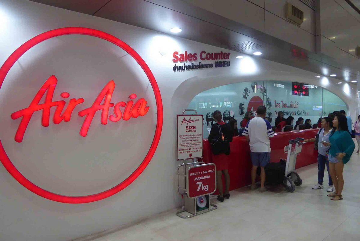 Air Asia e1552291878969 - Air Travel Thailand