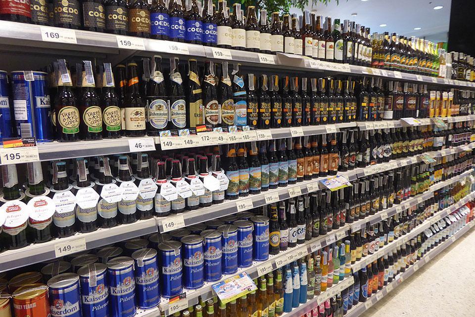 Alcohol in Bangkok
