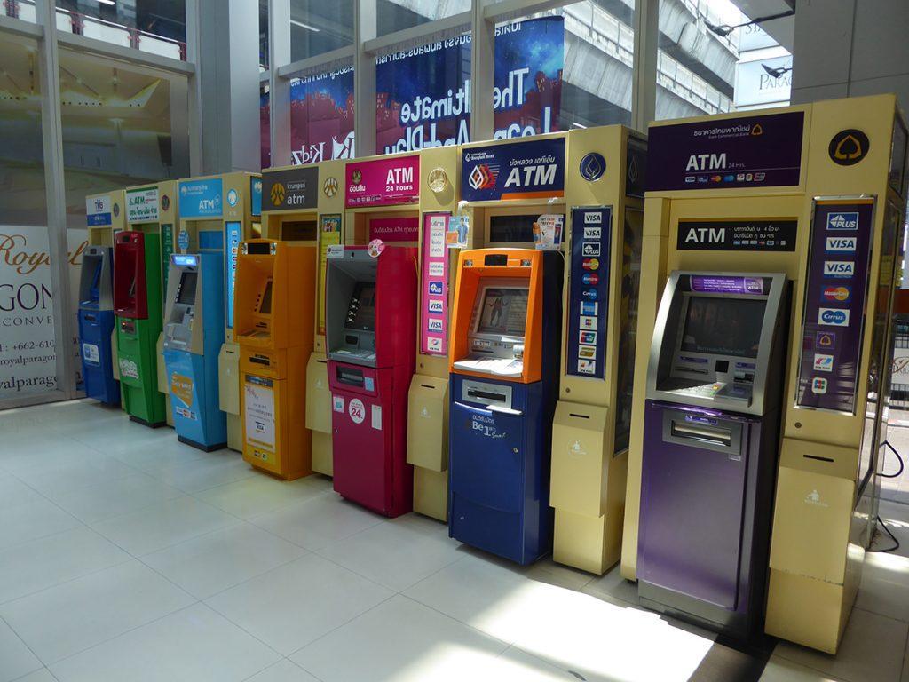 ATM Machines in Bangkok
