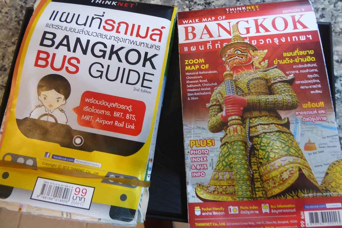 Bangkok city bus route map