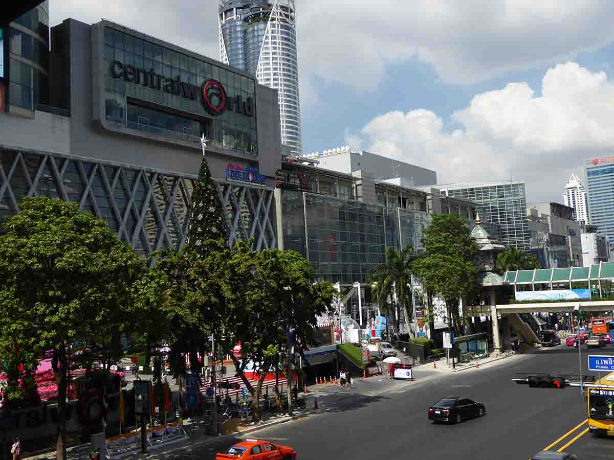 Central World Top Malls in Bangkok