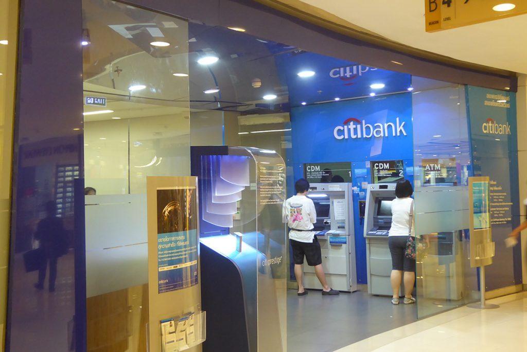Citibank in Bangkok