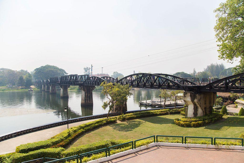 The Bridge on the River Kwai Kanchanaburi Thailand
