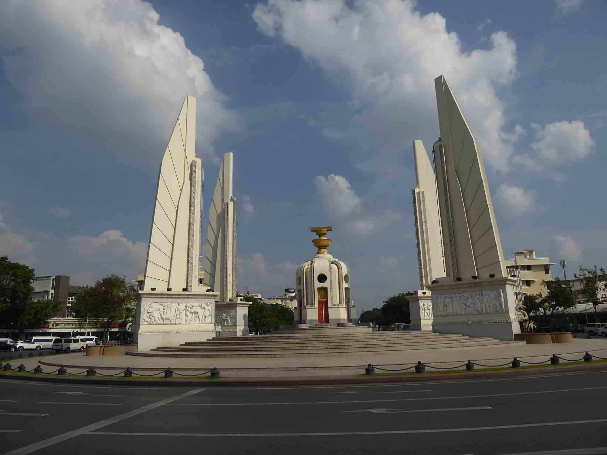 Democracy Monument - Landmarks & Monuments