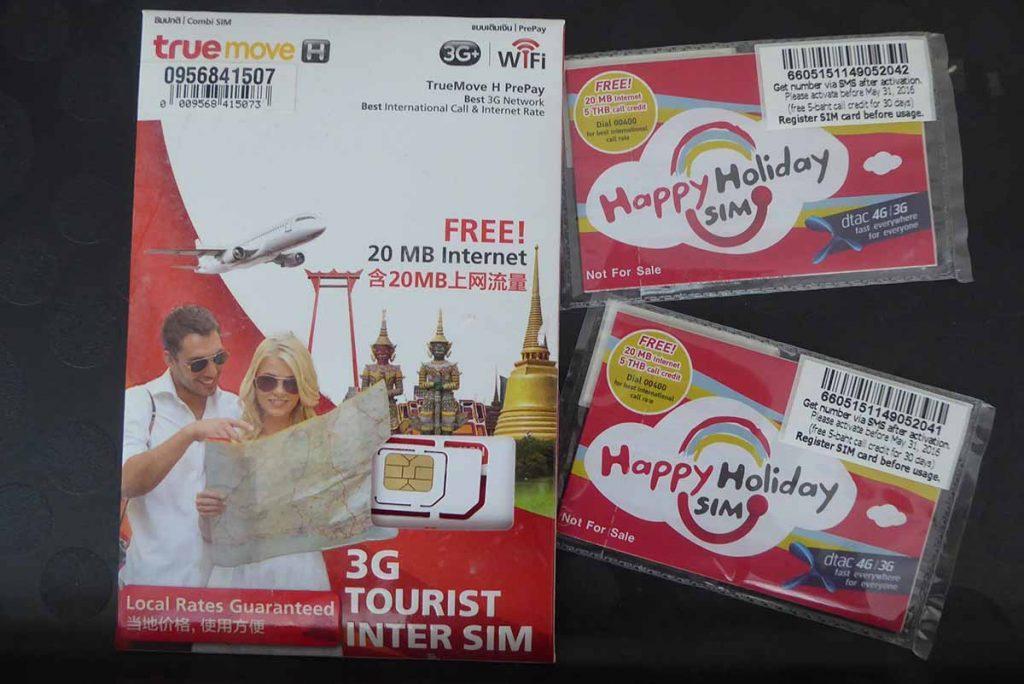 Free Sim Card 1024x684 - Suvarnabhumi Airport
