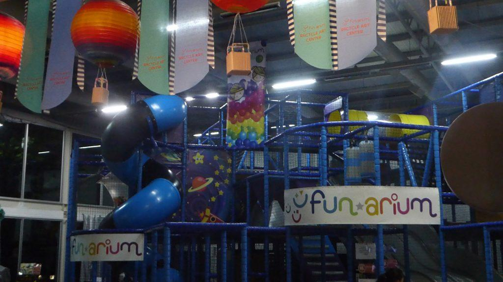 Funarium Children's Entertainment activity center Bangkok