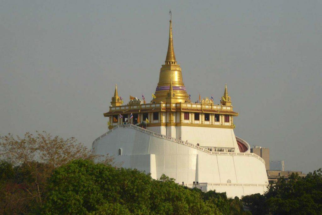 Wat Saket Temple Bangkok