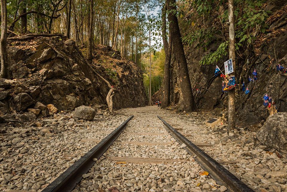 Hellfire Pass Kanchanaburi Thailand