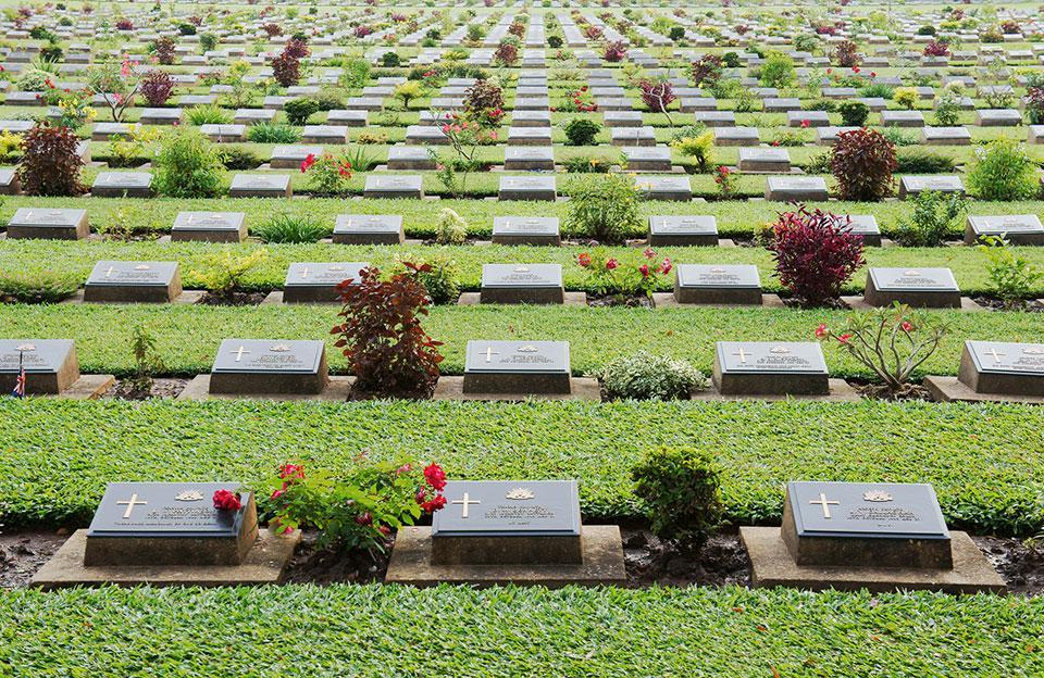 Kanchanaburi War Cemetery Thailand