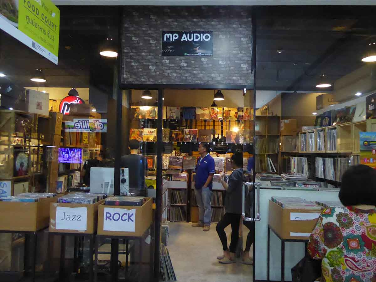 Vinyl Record Stores in Bangkok | touristbangkok | Music