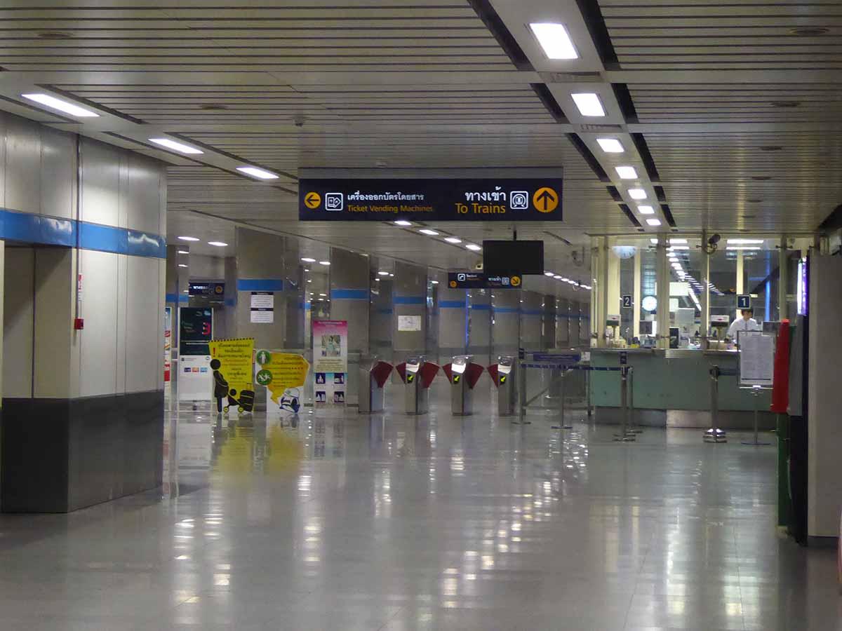 MRT Subway in Bangkok