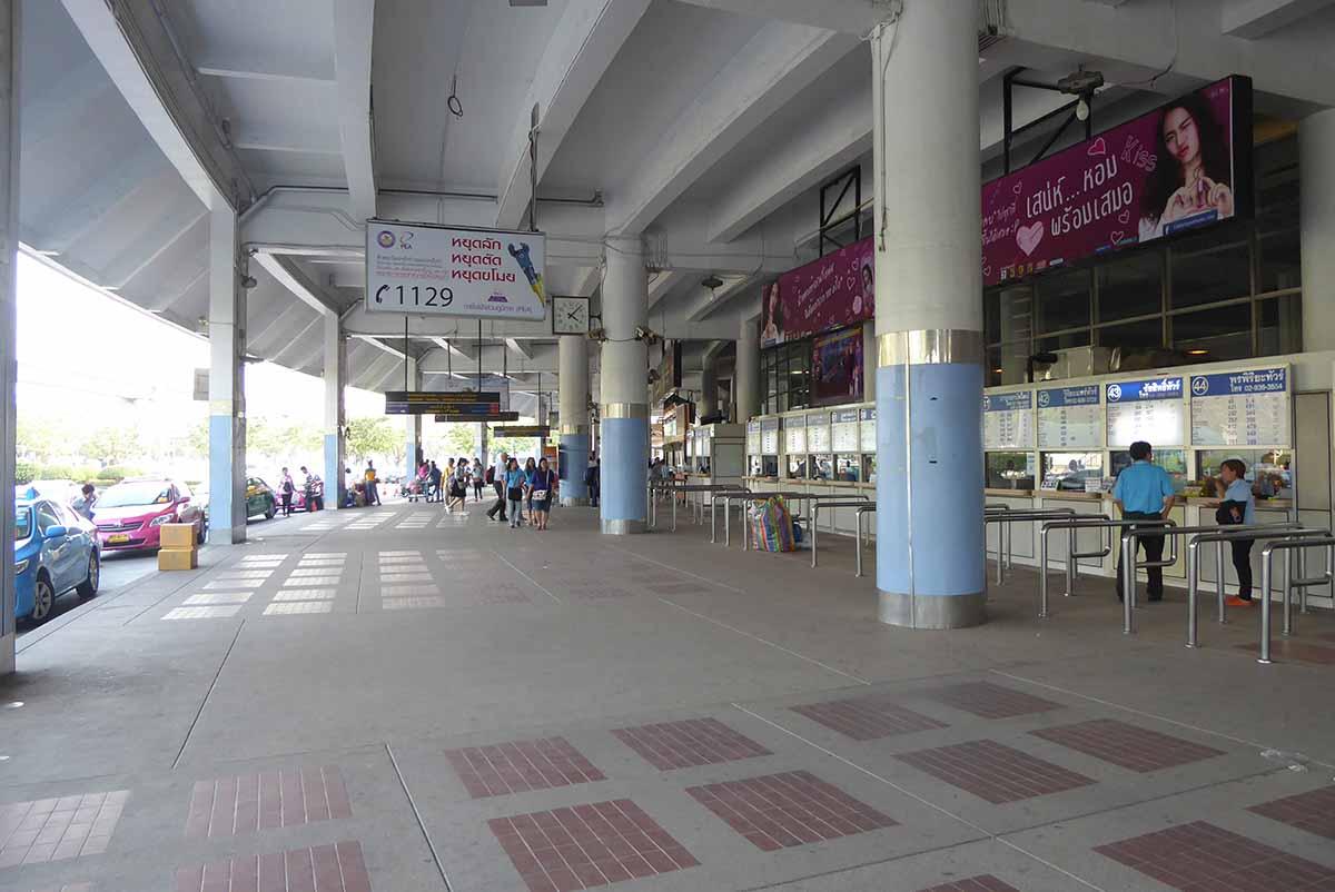 Northern ticket windows - Bangkok Bus Terminal
