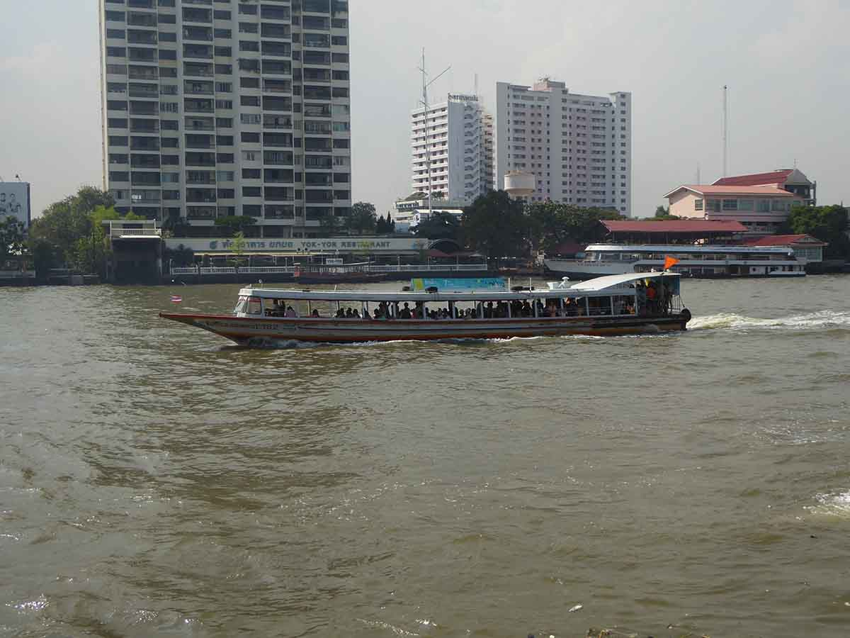 River Transport in Bangkok