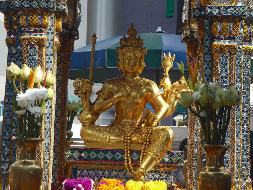 Chinese Hindu Shrines in Bangkok