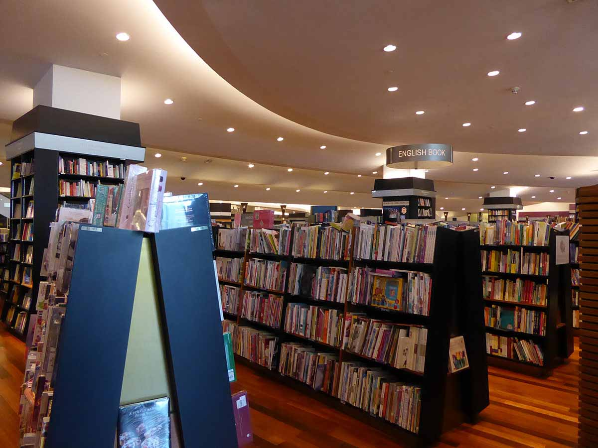 Bookshops in Bangkok Kinokuniya