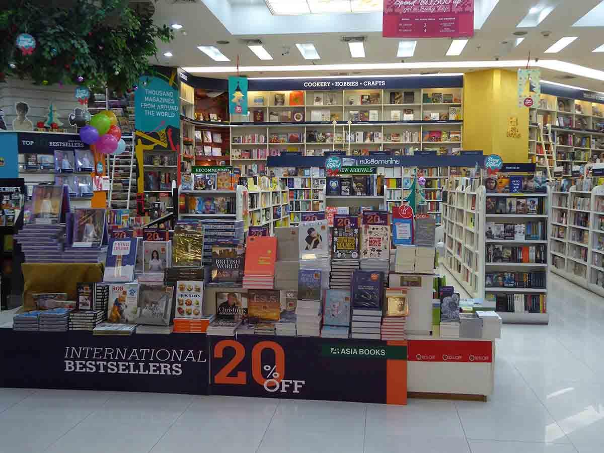 Bookshops in Bangkok Asia Books
