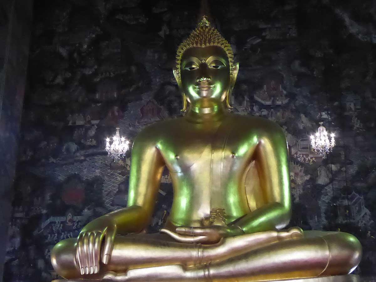 Wat Suthat Temple in Bangkok