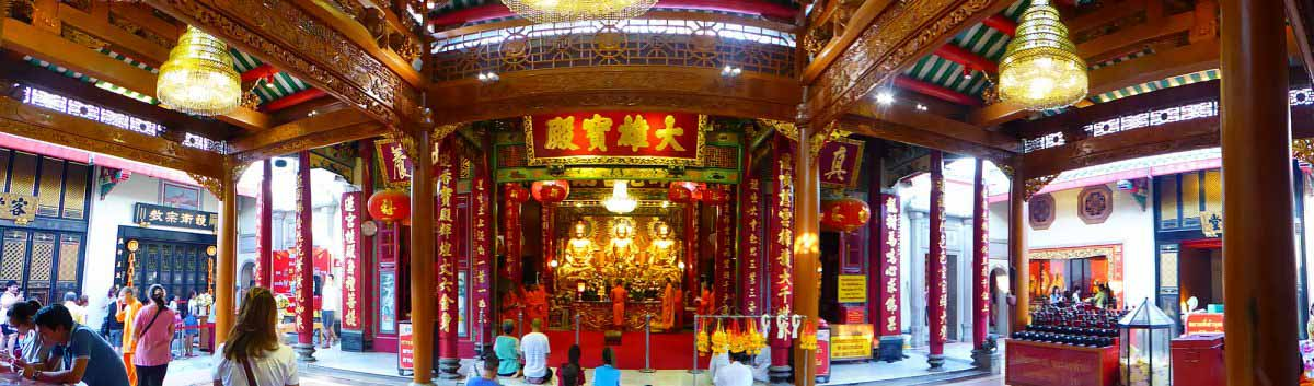 Chinese Buddhist temples in Bangkok