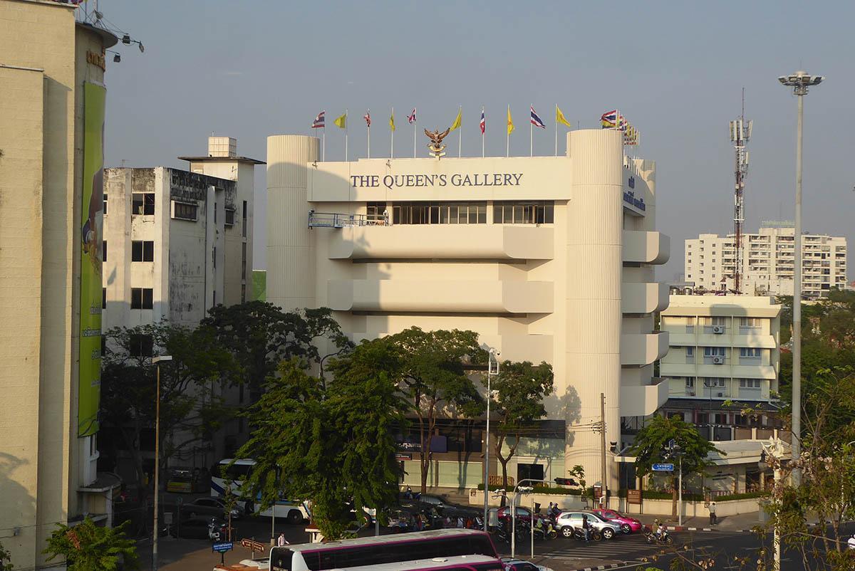 Queen Sirikit Art Gallery Bangkok.
