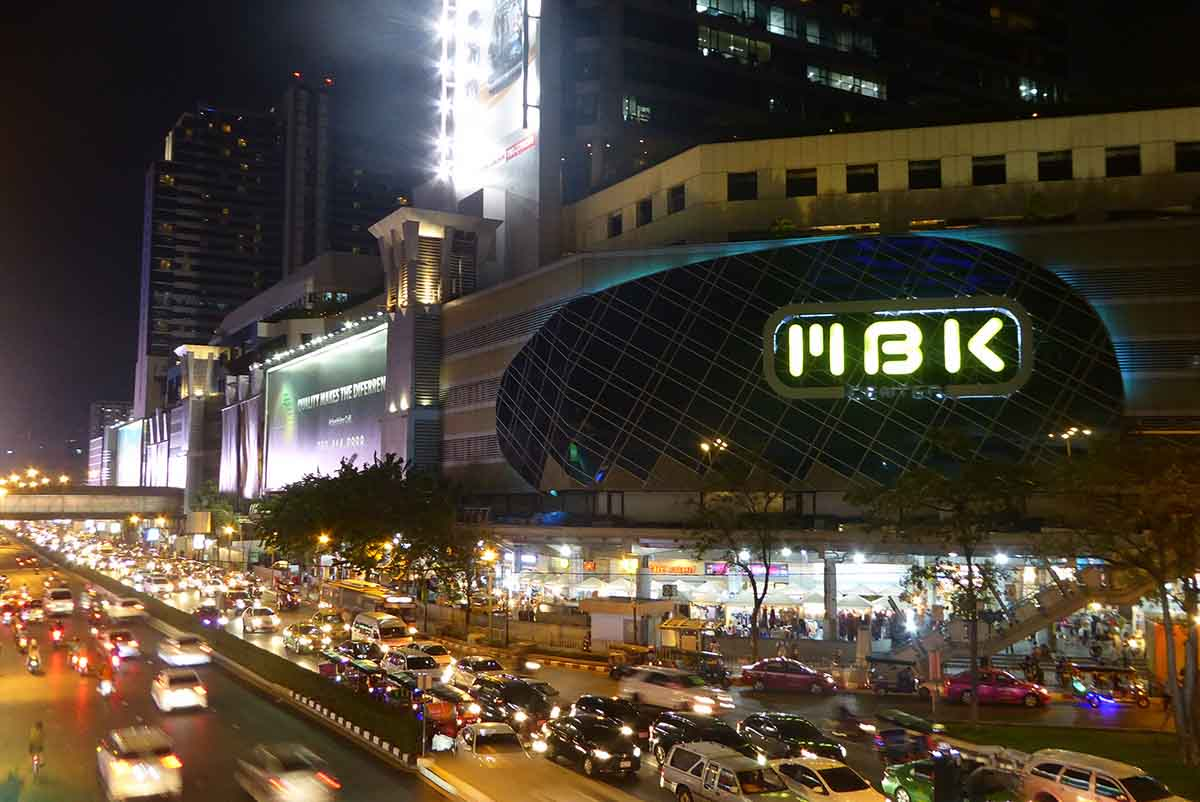 MBK Top Malls in Bangkok