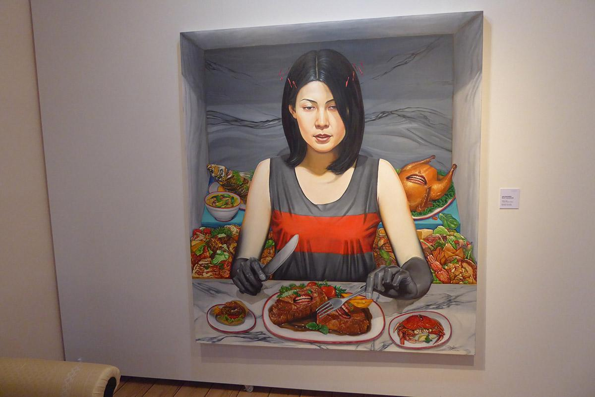 Krung Thai Art Gallery, Bangkok.