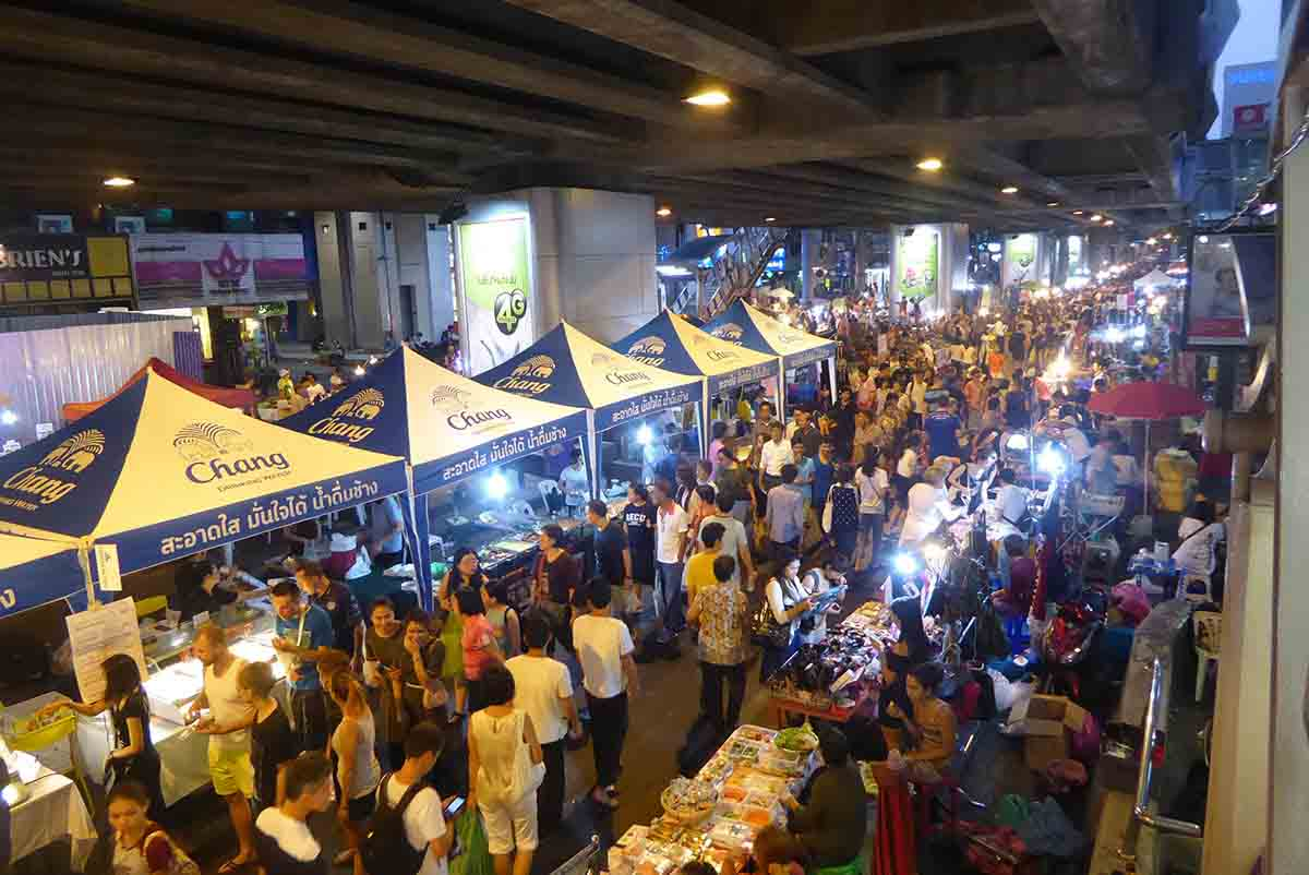 Bangkok Markets A-Z Silom Walking Street