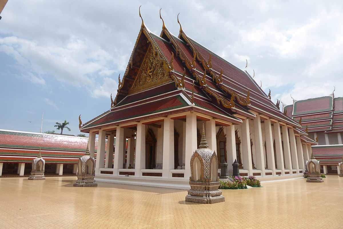 Wat Saket Temple in Bangkok