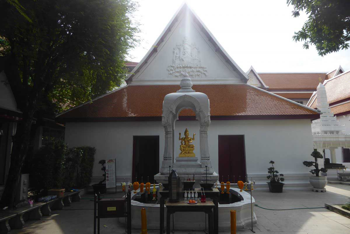 Hindu Brahmin Temples and Shrines Bangkok