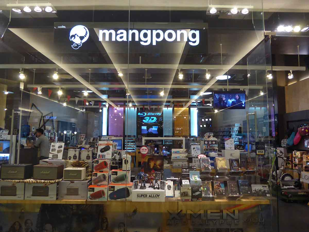 Where to buy DVD in Bangkok Mangpong