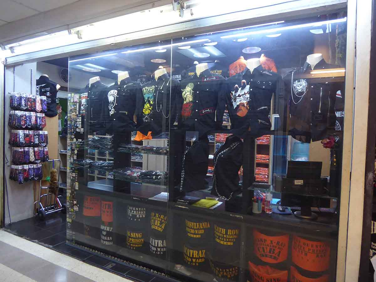 d32a1f42619 Alternative Punk Biker Rockabilly Retro T Shirt Clothing stores in Bangkok