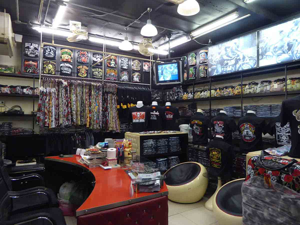 Alternative Clothing stores for bikers and beyond touristbangkok.com