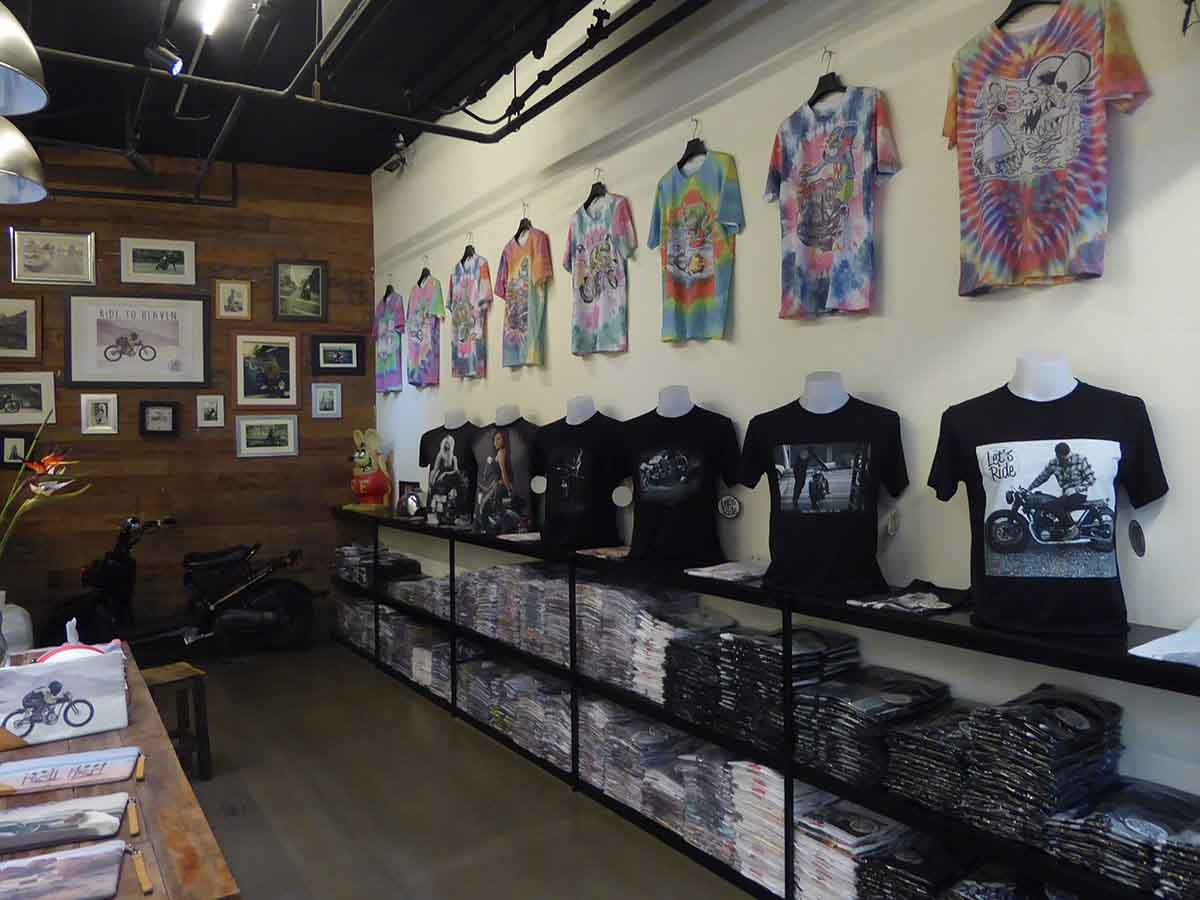 Alternative Punk Biker Rockabilly Retro T Shirt Clothing stores in Bangkok