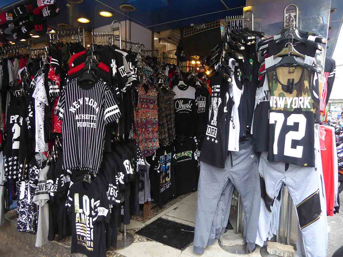 Alternative Military Biker Hip Hop Retro T Shirt Clothing stores in Bangkok