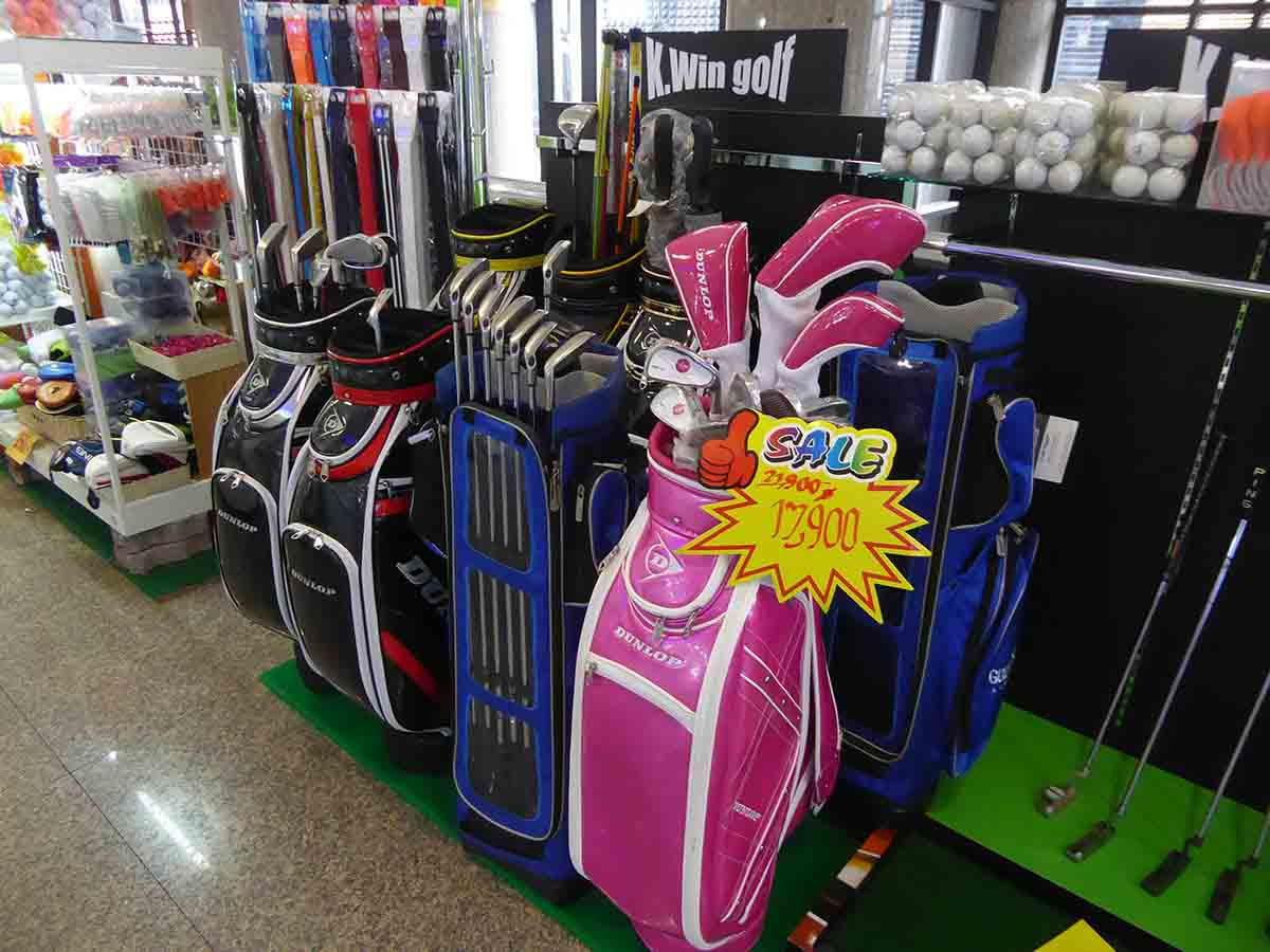 where to buy golfing equipment in Bangkok Thaniya Plaza