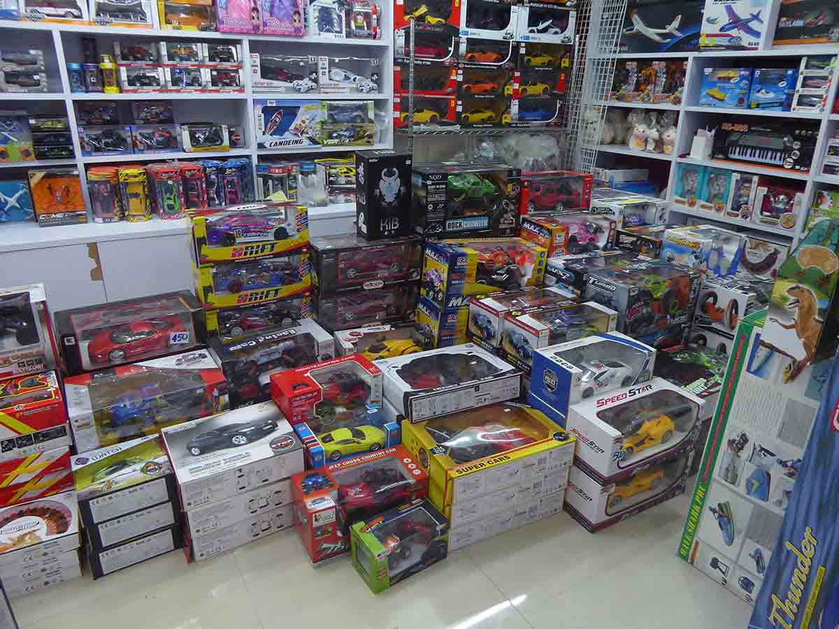 Shopping for Toys in Bangkok