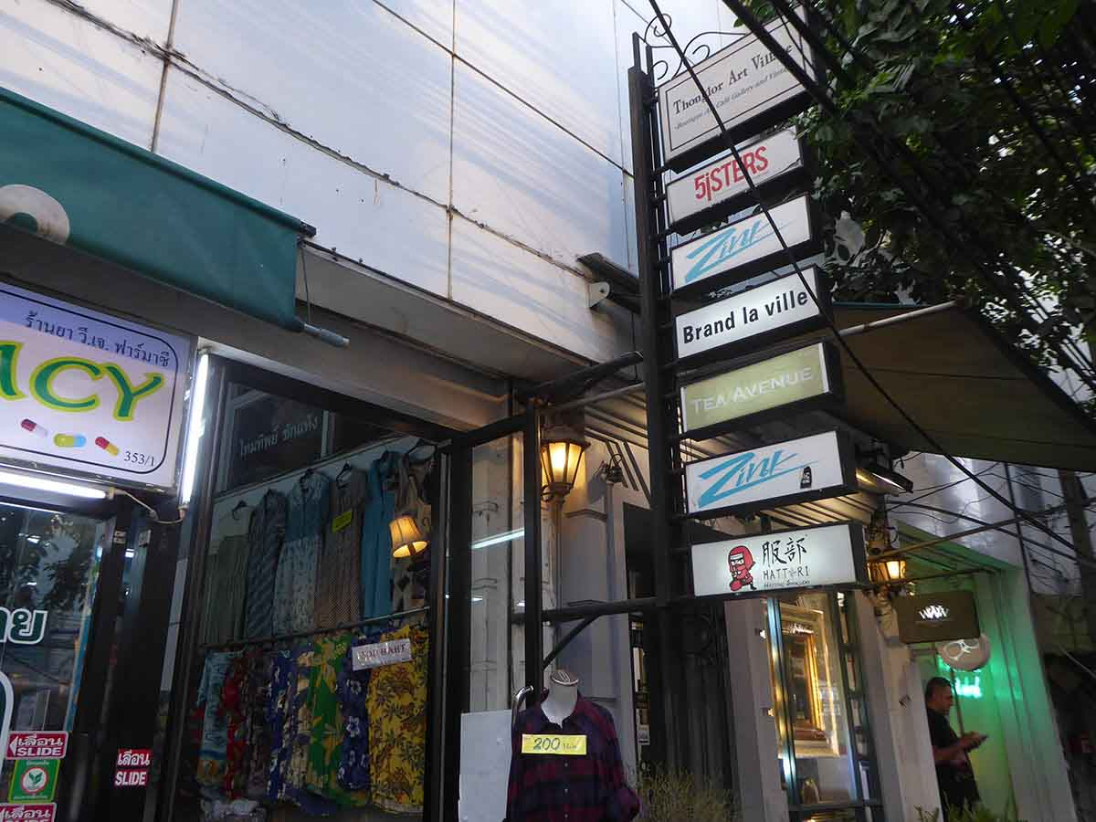 Vintage Clothing & Accessories in Bangkok Thonglor Art Village