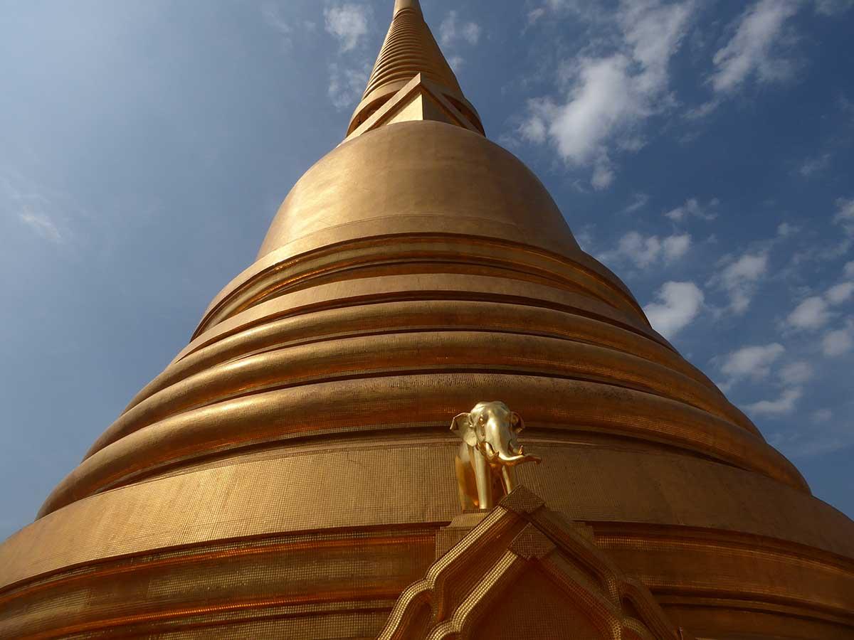 Wat Bowonniwet Vihara Temple in Bangkok