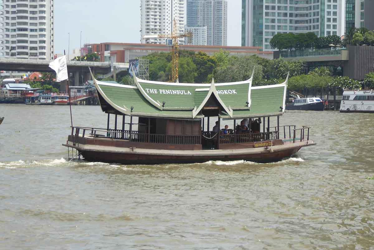 River Transport in Bangkok