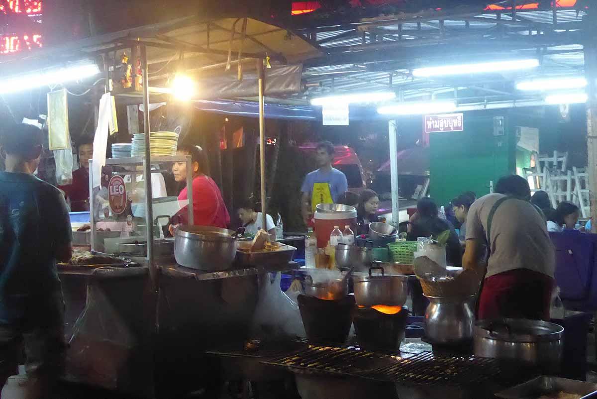 Street Food Soi Rangnam Phaya Thai Bangkok