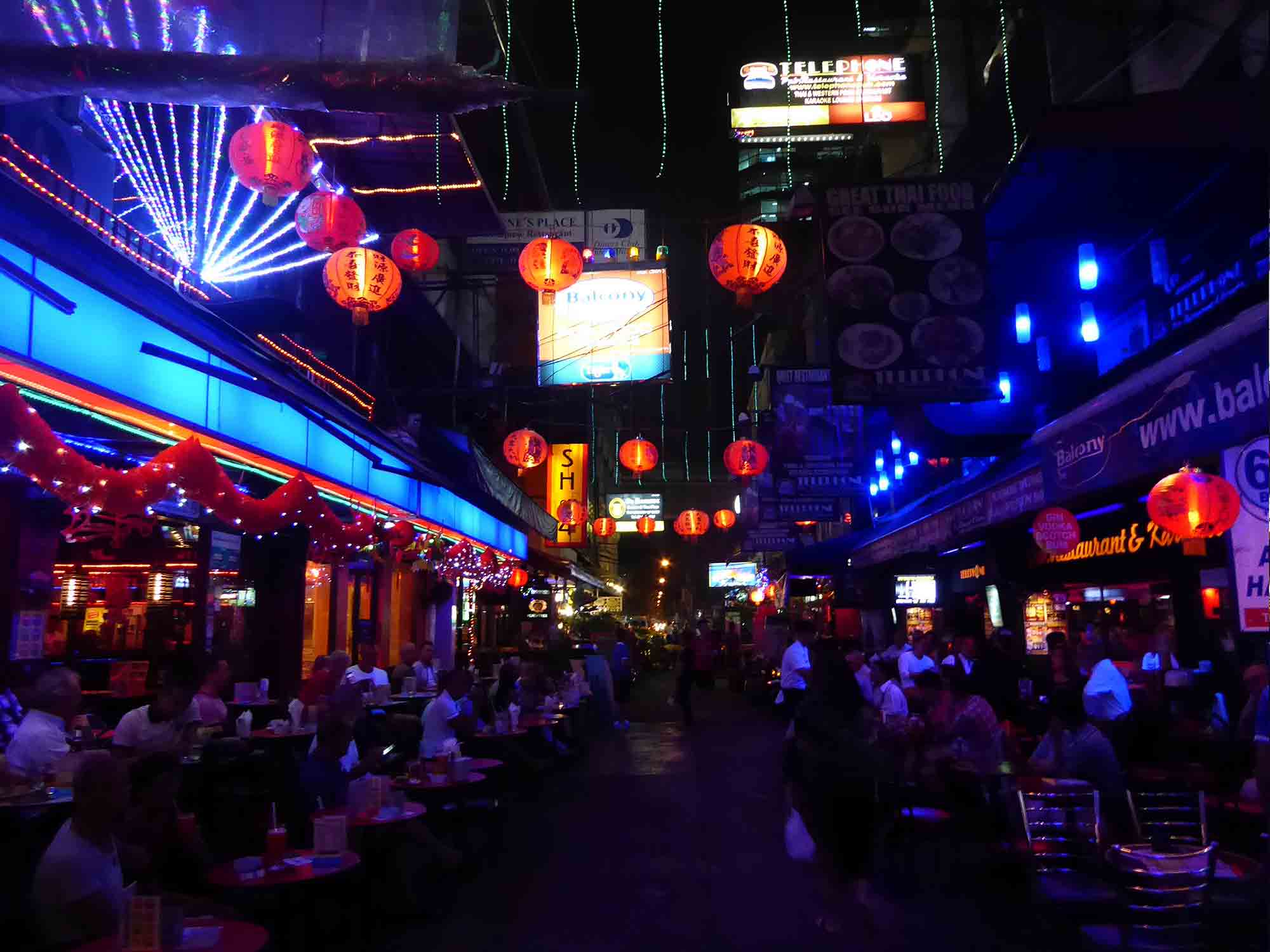Silom. Bangkok Neighborhoods.