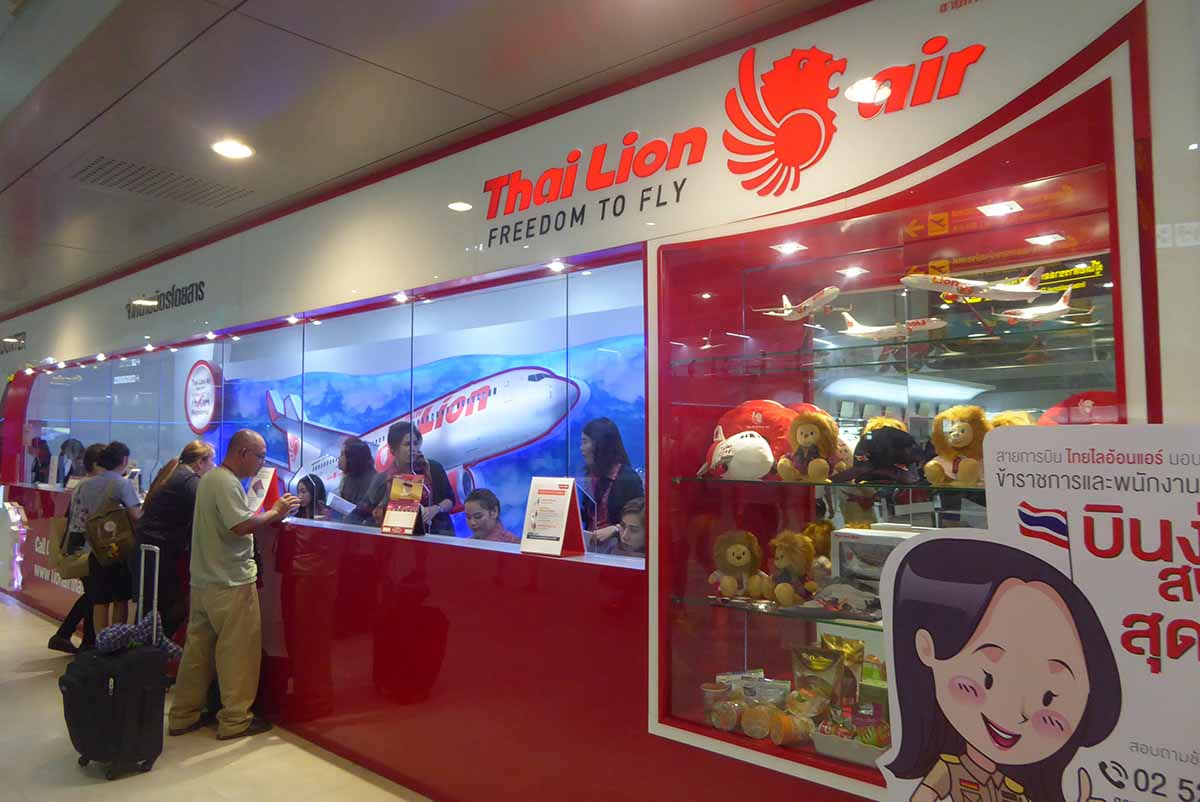 Thai Lion Air - Air Travel Thailand