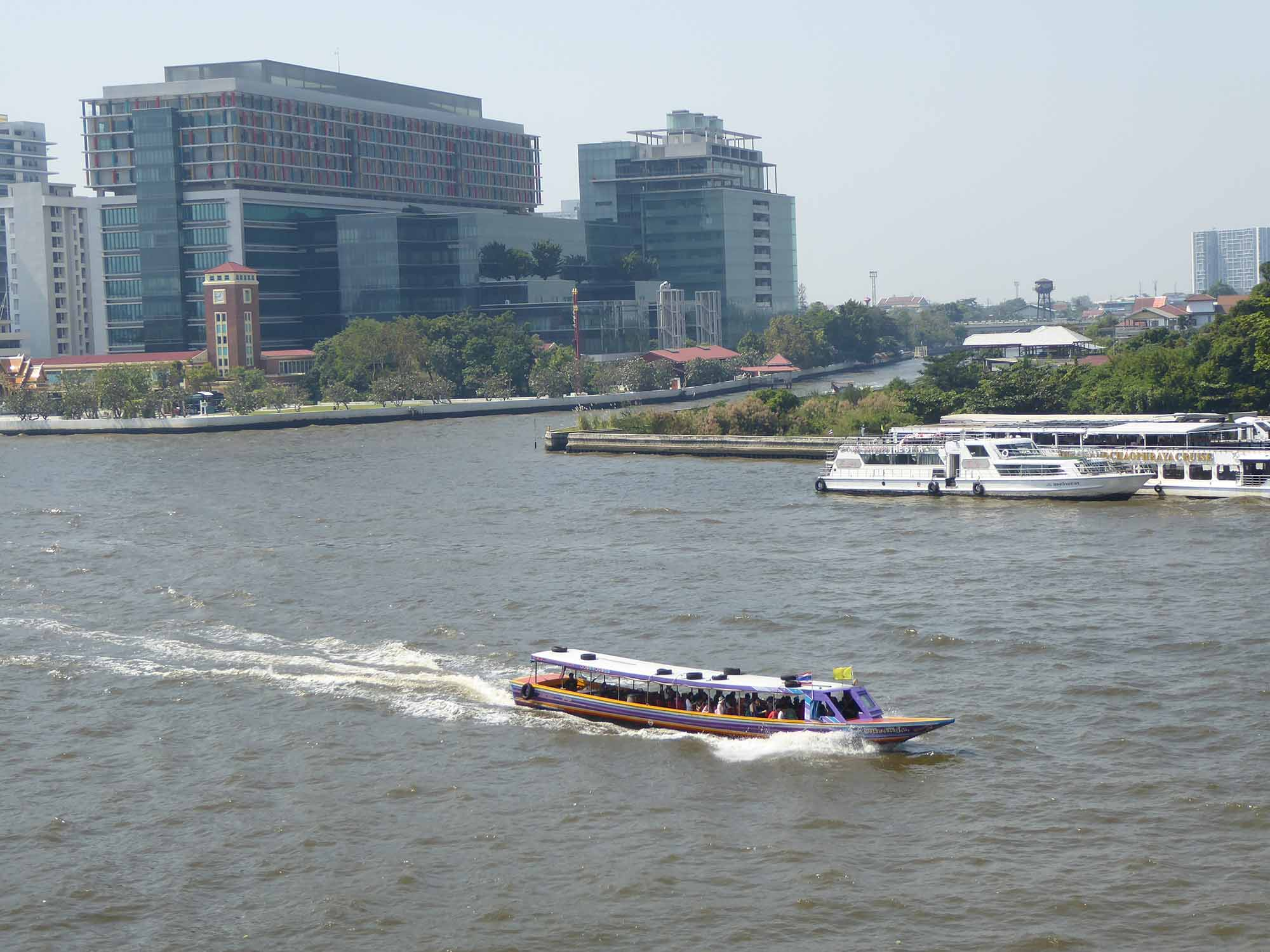 The Chao Phraya River Bangkok