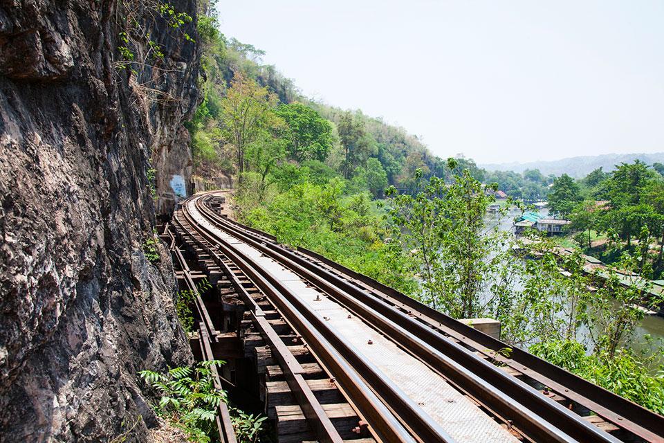 The Death Railway Kanchanaburi Thailand