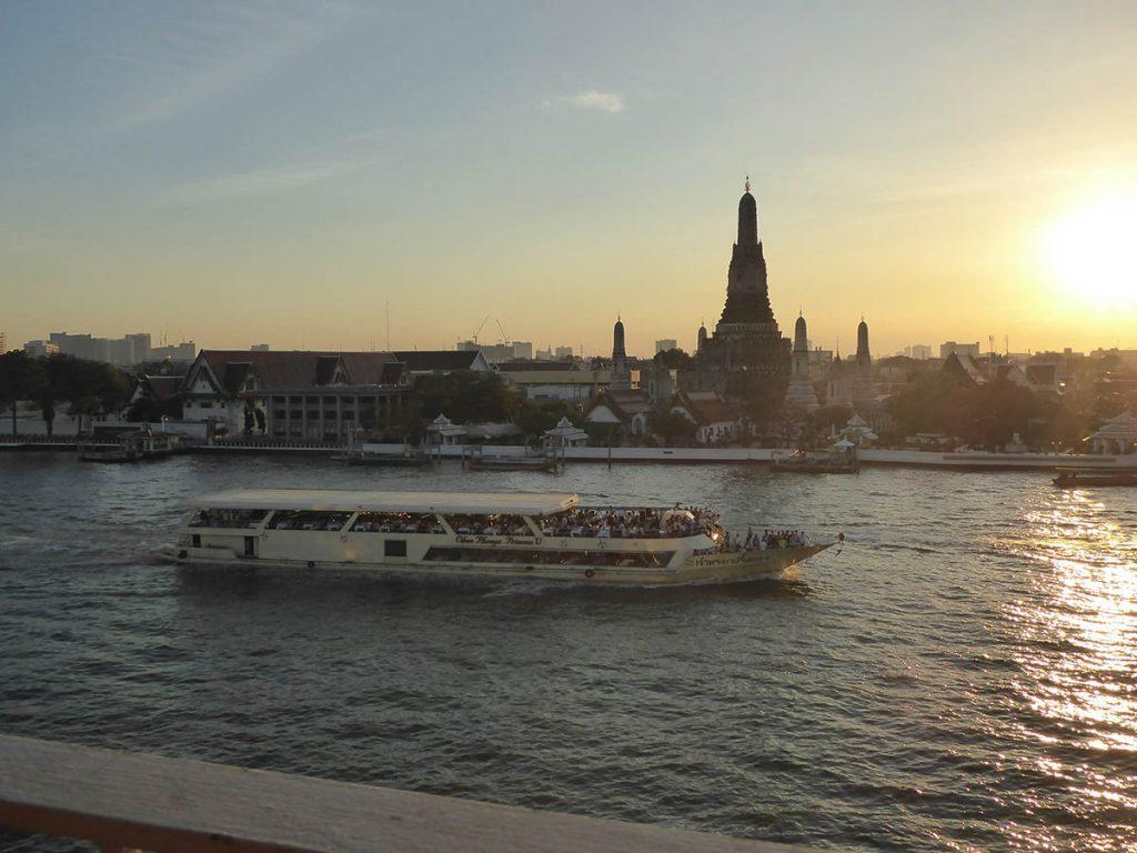 The Chao Phraya River Bangkok