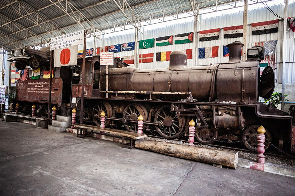 World War 2 Museum Kanchanaburi Thailand