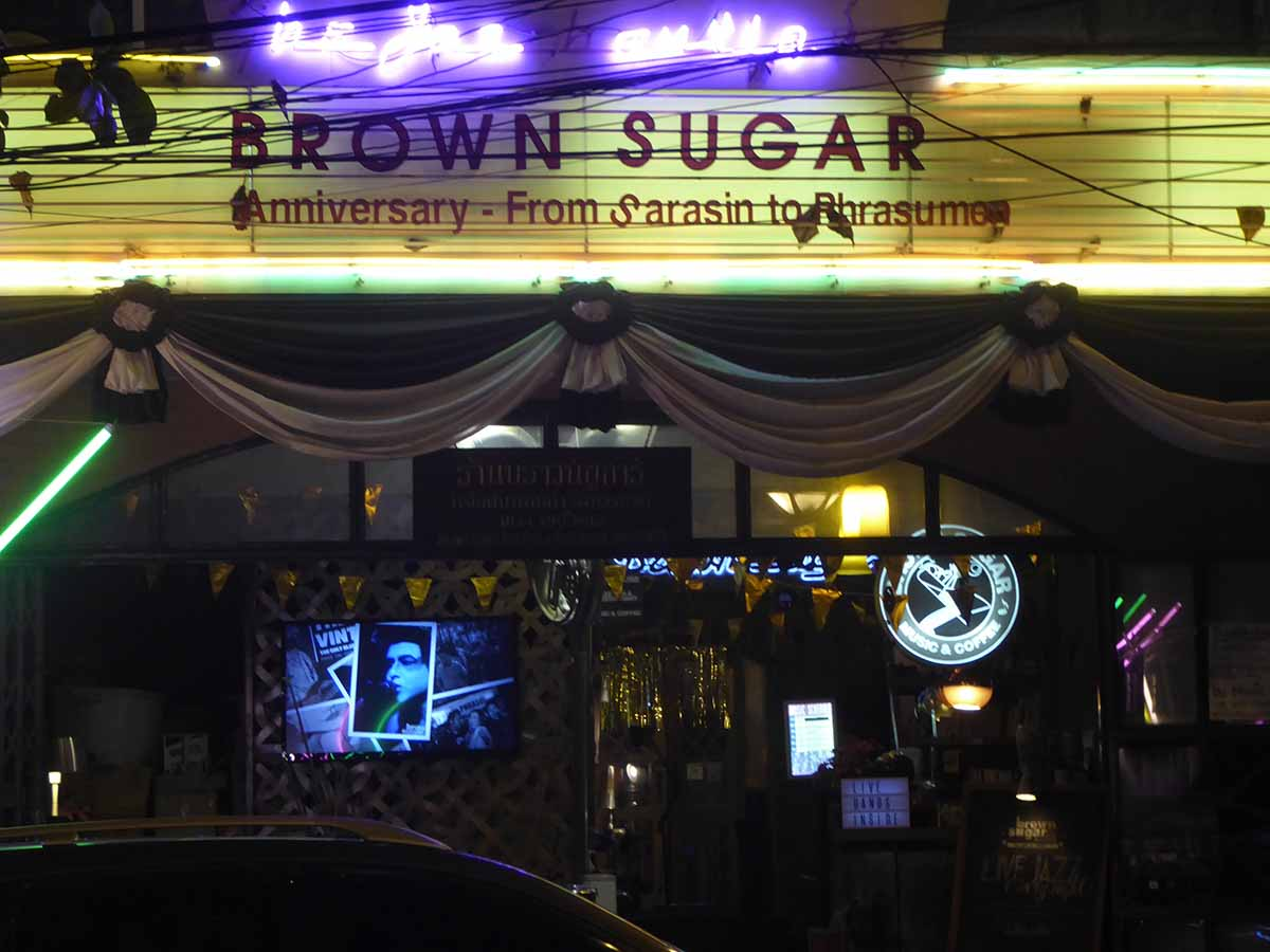 Brown Sugar Jazz Club Bangkok