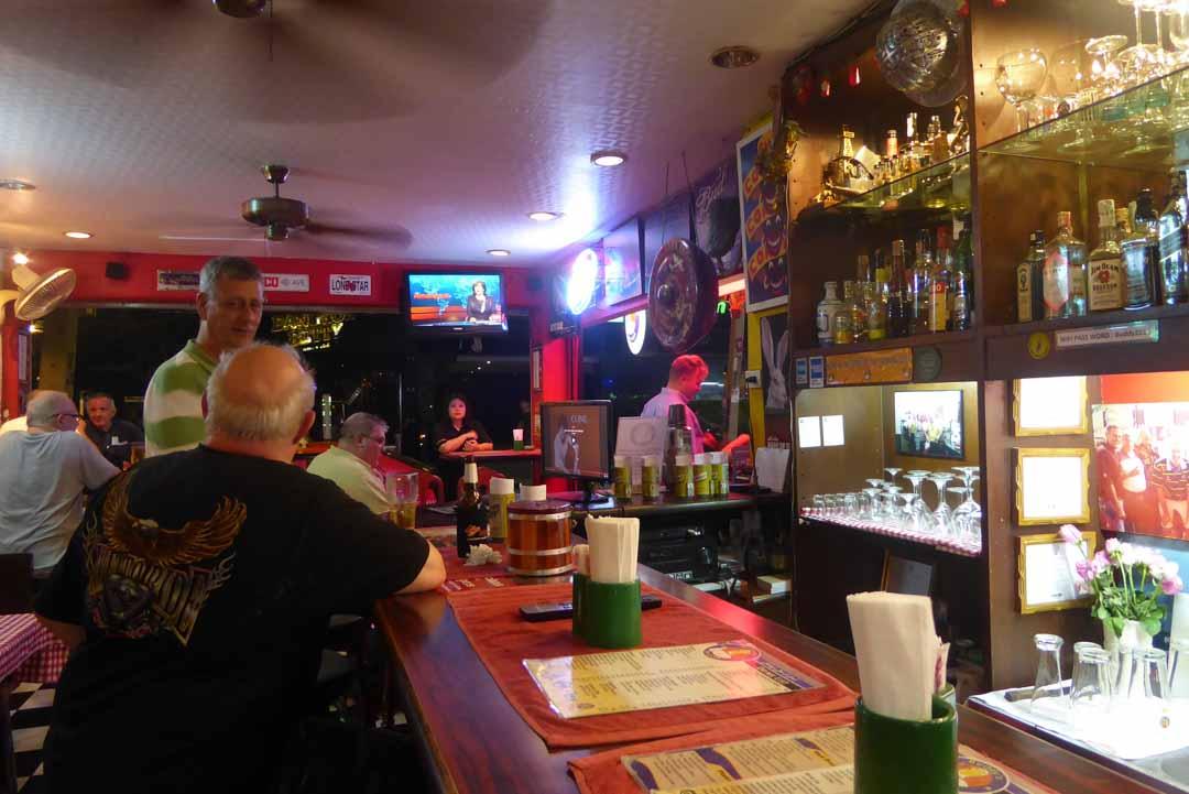 Buddy's bar & grill in Bangkok