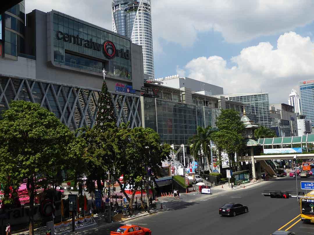 CentralWorld Shopping Mall in Bangkok