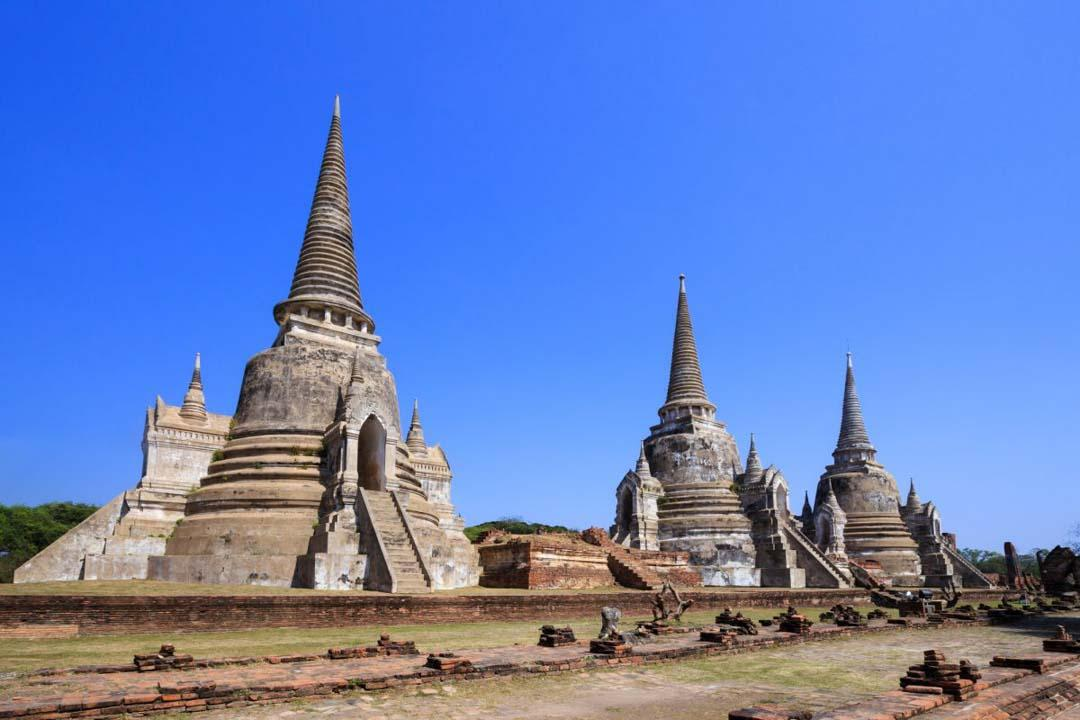 Ayutthaya in Thailand Historical Temples