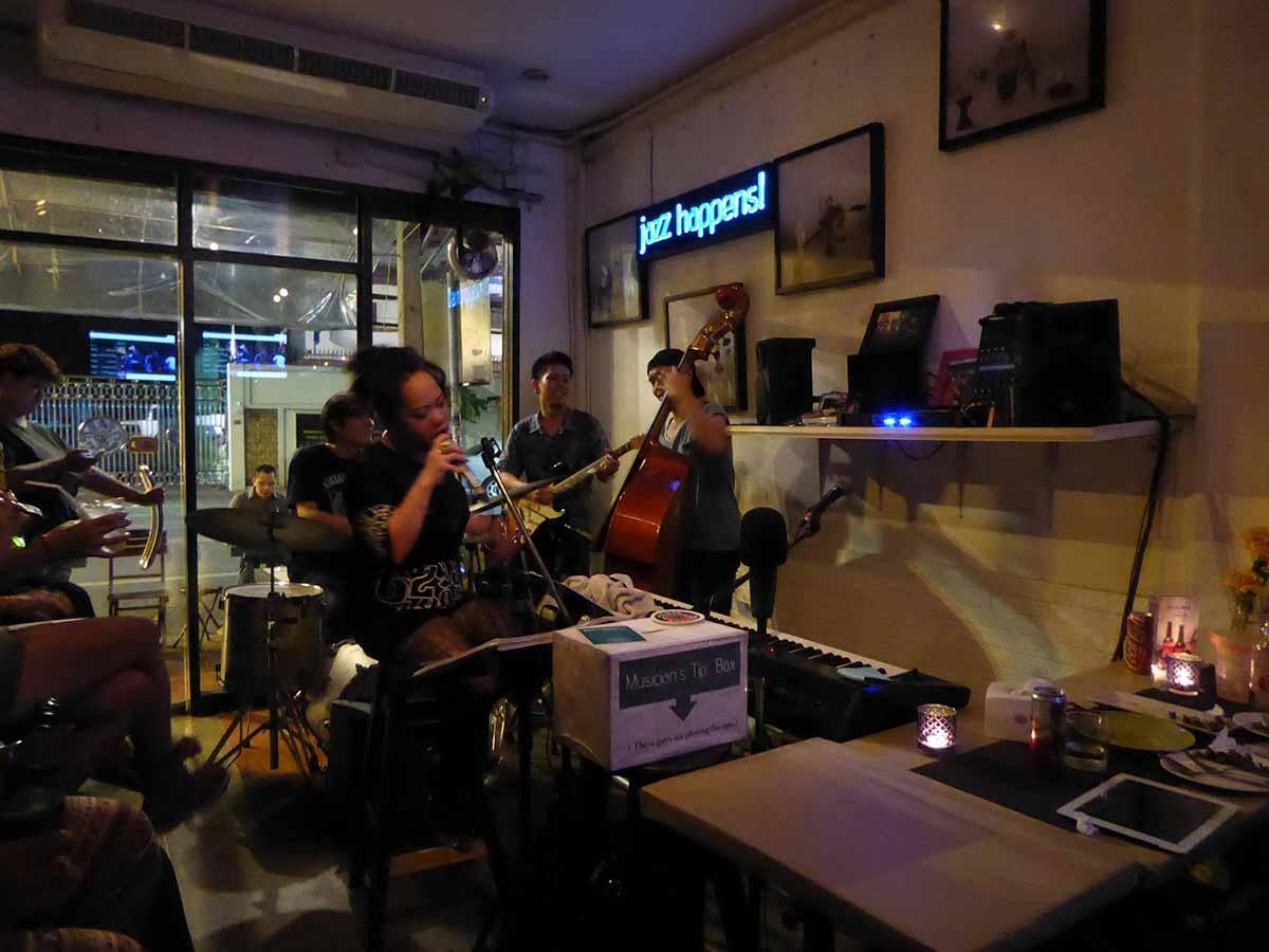 Jazz happens live Jazz in Bangkok